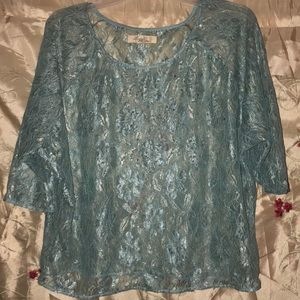 Forever 21 Boutique Lace  Blouse